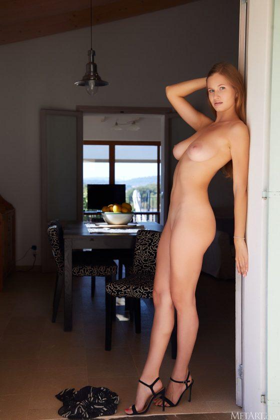 Stella Cardo Nude In Dining Room MetArt Model Pics
